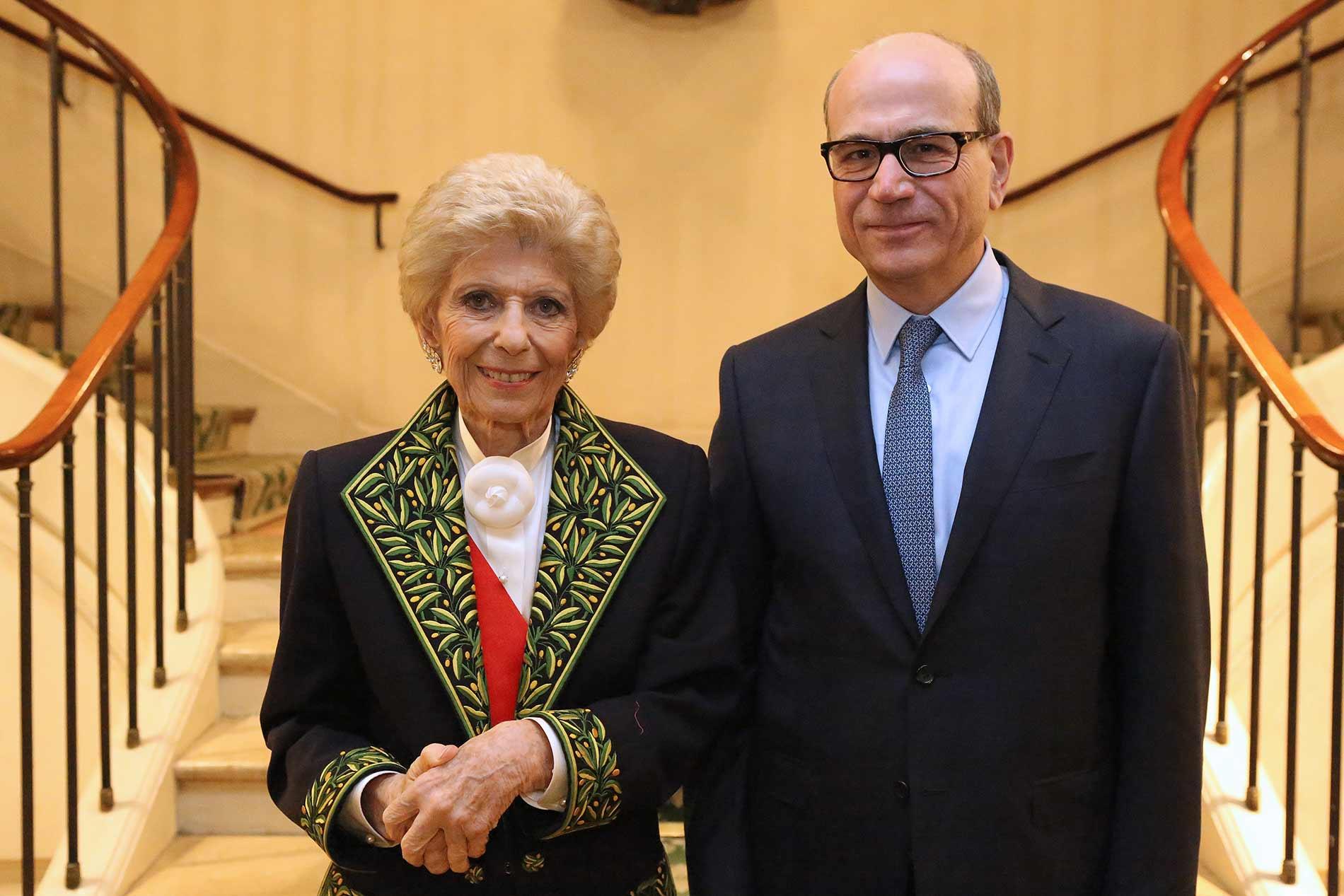 Remise de la Grande médaille de la Francophonie au Dr François Boustani